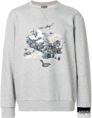 Lanvin signature printed sweatshirt