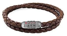 Tateossian Men's Combo Scoubidou Braided Wrap Combination Bracelet