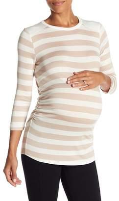 LAmade Sienna Long Sleeve Striped Tee (Maternity)