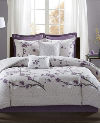 Madison Park Holly 8-Pc. Queen Comforter Set Bedding