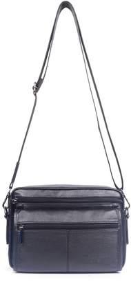 Genda 2Archer Genuine Leather Small Shoulder Crossbody Messenger Bags for Men