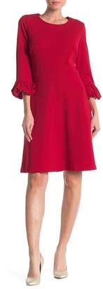 Ronni Nicole Bell Cuff Solid Dress