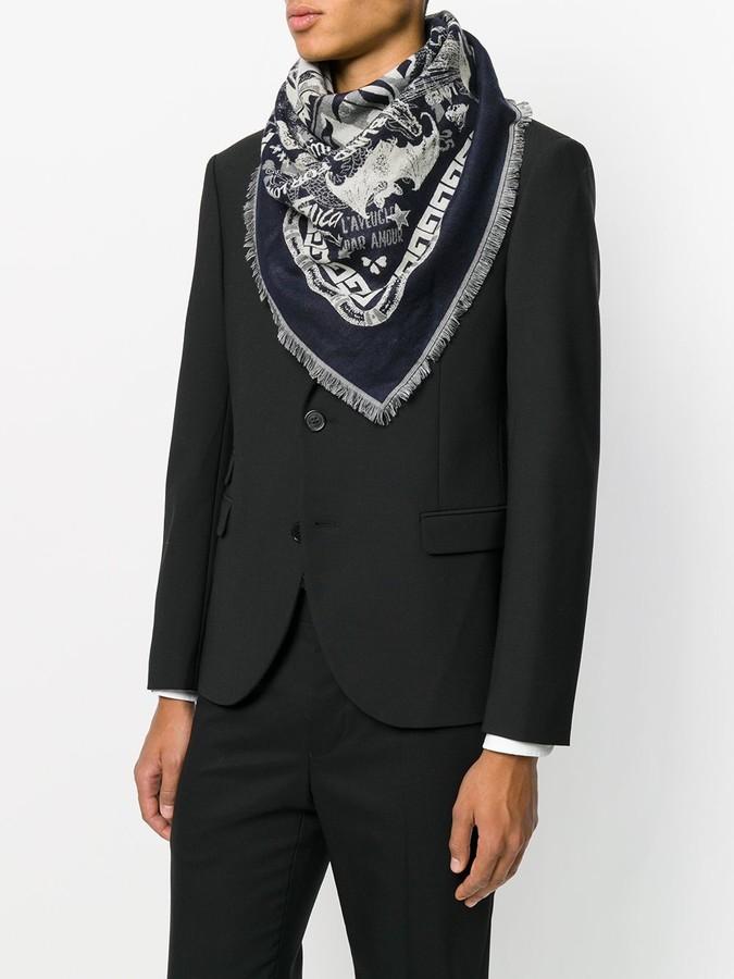 Gucci printed scarf