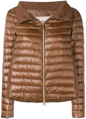 Herno metallic zipped jacket