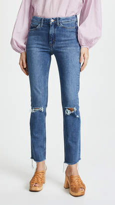 MiH Jeans The Daily Highrise Straight Jeans