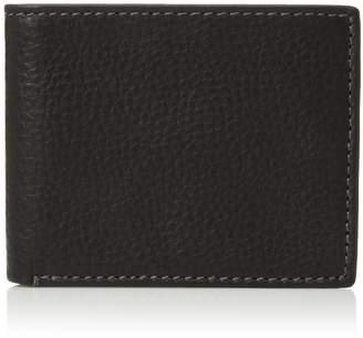 Fossil Men's Rfid Flip ID Bifold Wallet, Reese-Brown