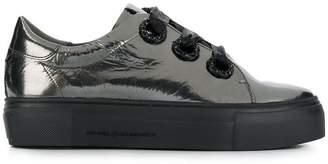 Kennel + Schmenger Kennel&Schmenger metallic platform sneakers