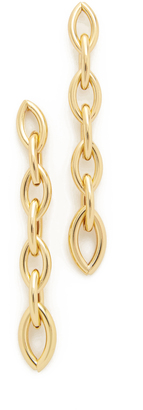 Jules Smith Capella Link Earrings $55 thestylecure.com