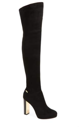 Calvin Klein 'Polomia' Platform Over the Knee Boot