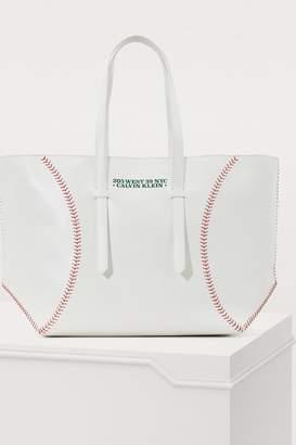 Calvin Klein Baseball tote bag