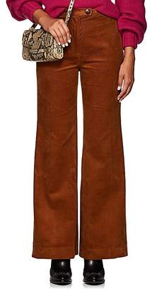Icons Women's Hepburn Cotton Corduroy Wide-Leg Pants