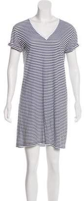Alexander Wang Striped Mini Dress