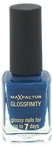 Max Factor Glossfinity Nail Polish for Women, # 140 Cobalt , 0.37 Ounce by