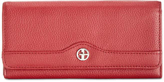 Giani Bernini Pebble Leather Receipt Wallet