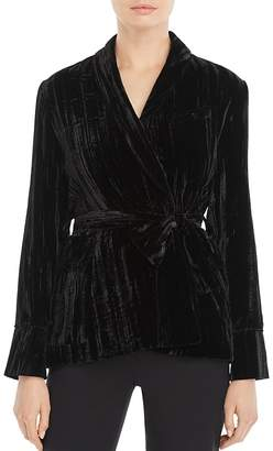 Whistles Crushed Velvet Jacket - 100% Exclusive