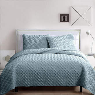 VCNY Nina Embossed Quilt Set