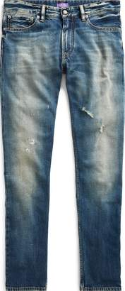Ralph Lauren Slim Fit Distressed Jean