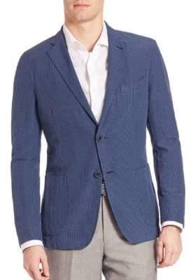 Saks Fifth Avenue COLLECTION Seersucker Sportcoat