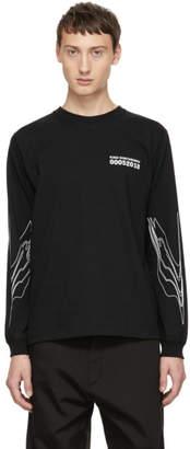 Kiko Kostadinov Black Obscured By Clouds Long Sleeve T-Shirt
