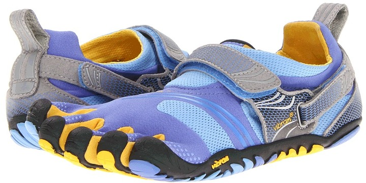 Vibram FiveFingers Komodo Sport (Blue/Yellow/Grey) - Footwear