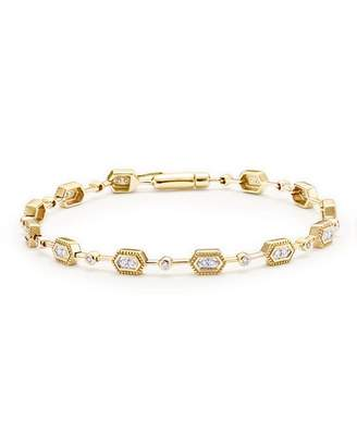 Bloomingdale's Diamond Geometric Bracelet in 14K Yellow Gold, .33 ct. t.w. - 100% Exclusive
