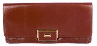 Lanvin Glazed Leather Shoulder Bag