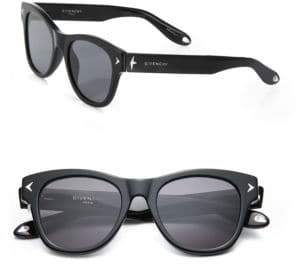 Givenchy 21MM Star-Detail Rectangular Sunglasses