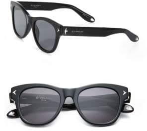 Givenchy 21MM Star-Detail Rectangular Sunglasses