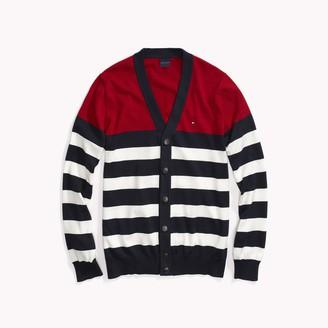 Tommy Hilfiger Bold Stripe Cardigan