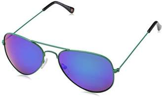 Montana MS96 Sunglasses, Multicoloured Revo Green, One Size