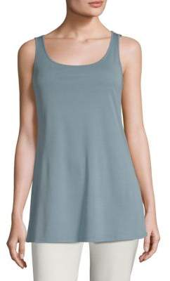 Eileen Fisher Stretch Silk Tunic