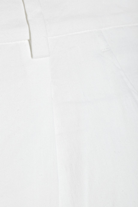 Theory Clah stretch linen-blend shorts
