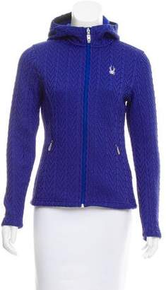 Spyder Hooded Zip-Up Sweater