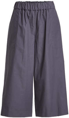 Sea 3/4 Length Cotton Pants