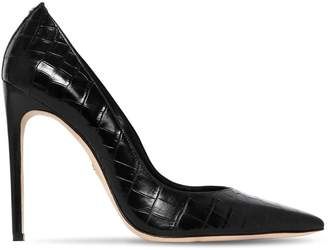 DSQUARED2 110mm Croc Embossed Leather Pumps
