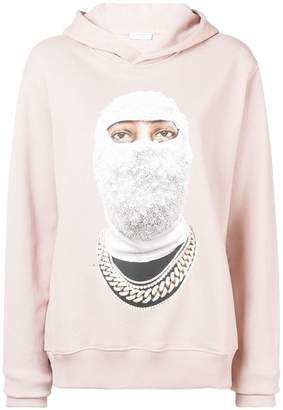 Ih Nom Uh Nit face printed hoodie