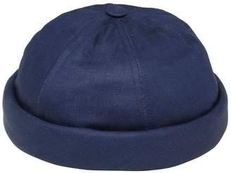 Handmade Washed Cotton Denim Sailor Hat