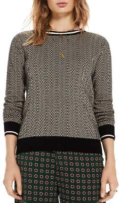 Scotch & Soda Printed Crewneck Sweater