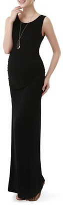 Women's Kimi And Kai Maternity Maxi Tank Dress $66 thestylecure.com