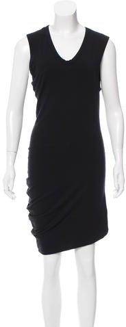 Alexander WangT by Alexander Wang Sleeveless Midi Dress