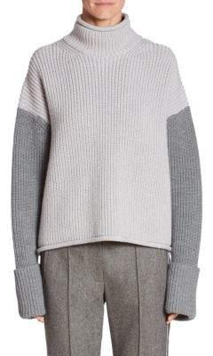 Victoria Beckham Wool Turtleneck Pullover