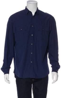 Ralph Lauren Purple Label Long Sleeve Button-Up Shirt
