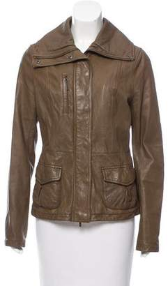 Vince Tailored Leather Jacket