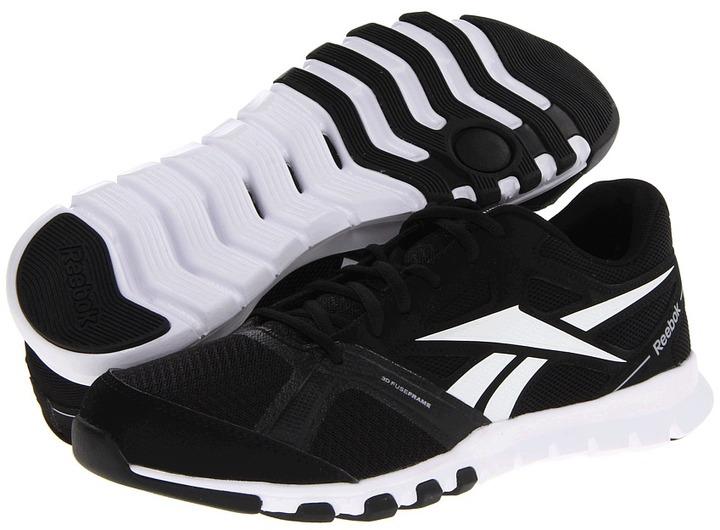 Reebok SubLite TR 2.0 (Black/White/Flat Grey) - Footwear