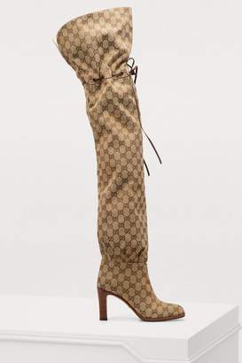 Gucci Lisa over the knee boots