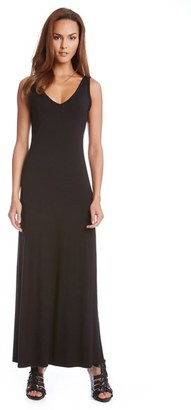 Women's Karen Kane 'Alana' Double V-Neck Maxi Dress $118 thestylecure.com