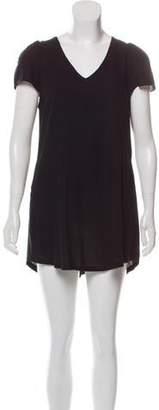 Reformation Short Sleeve Mini Dress