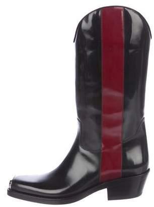 Calvin Klein Ellie Western Mid-Calf Boots