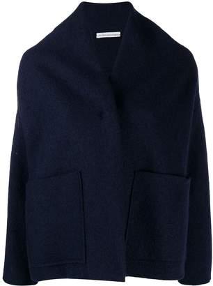 Stefano Mortari oversized collarless jacket