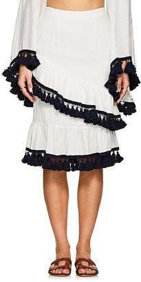 Suboo Women's Playa Frill Cotton-Blend Skirt